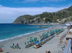 Levanto beach, Liguria