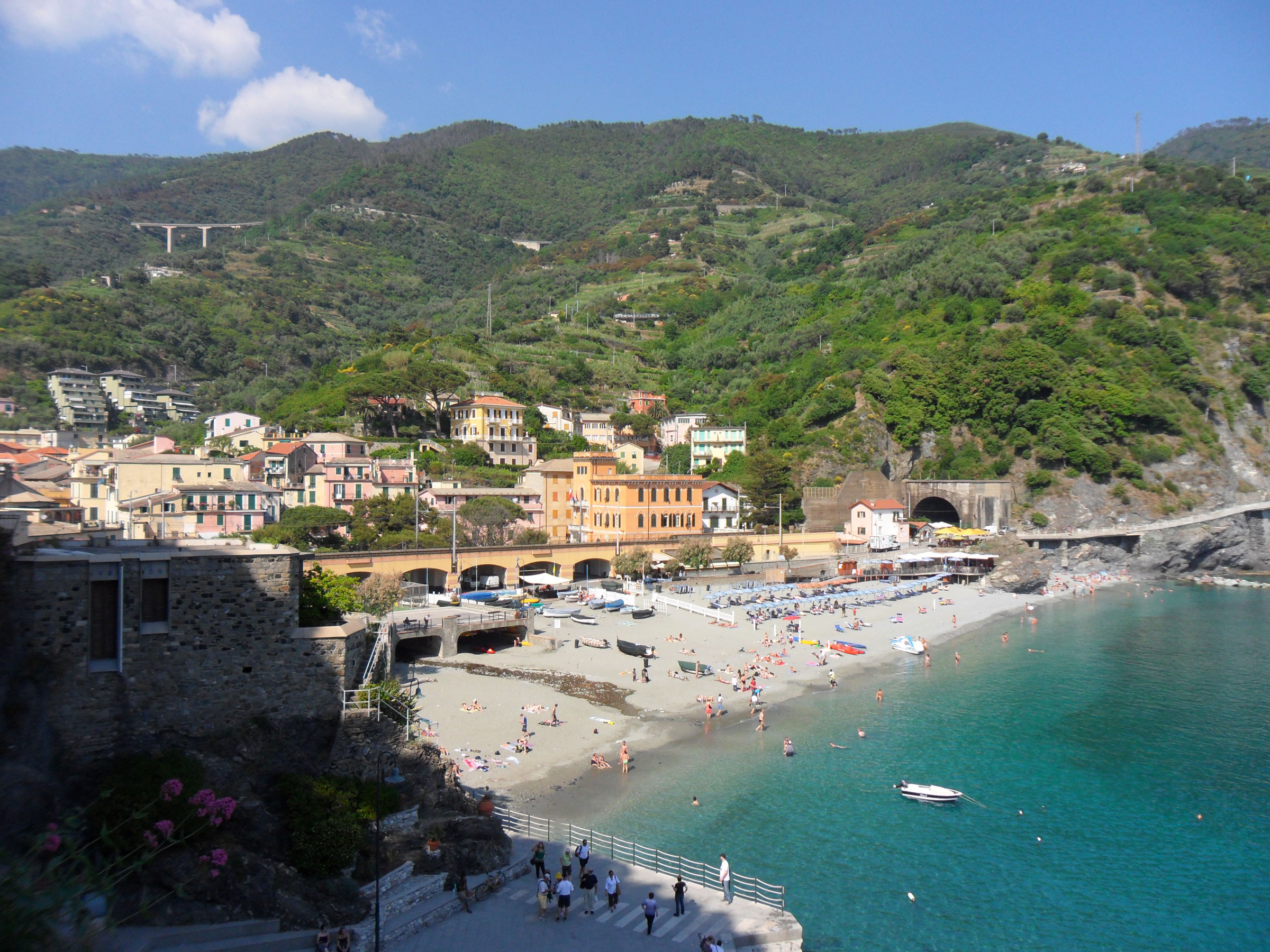 Monterosso The Old Town Beach Cinque Terre Liguria