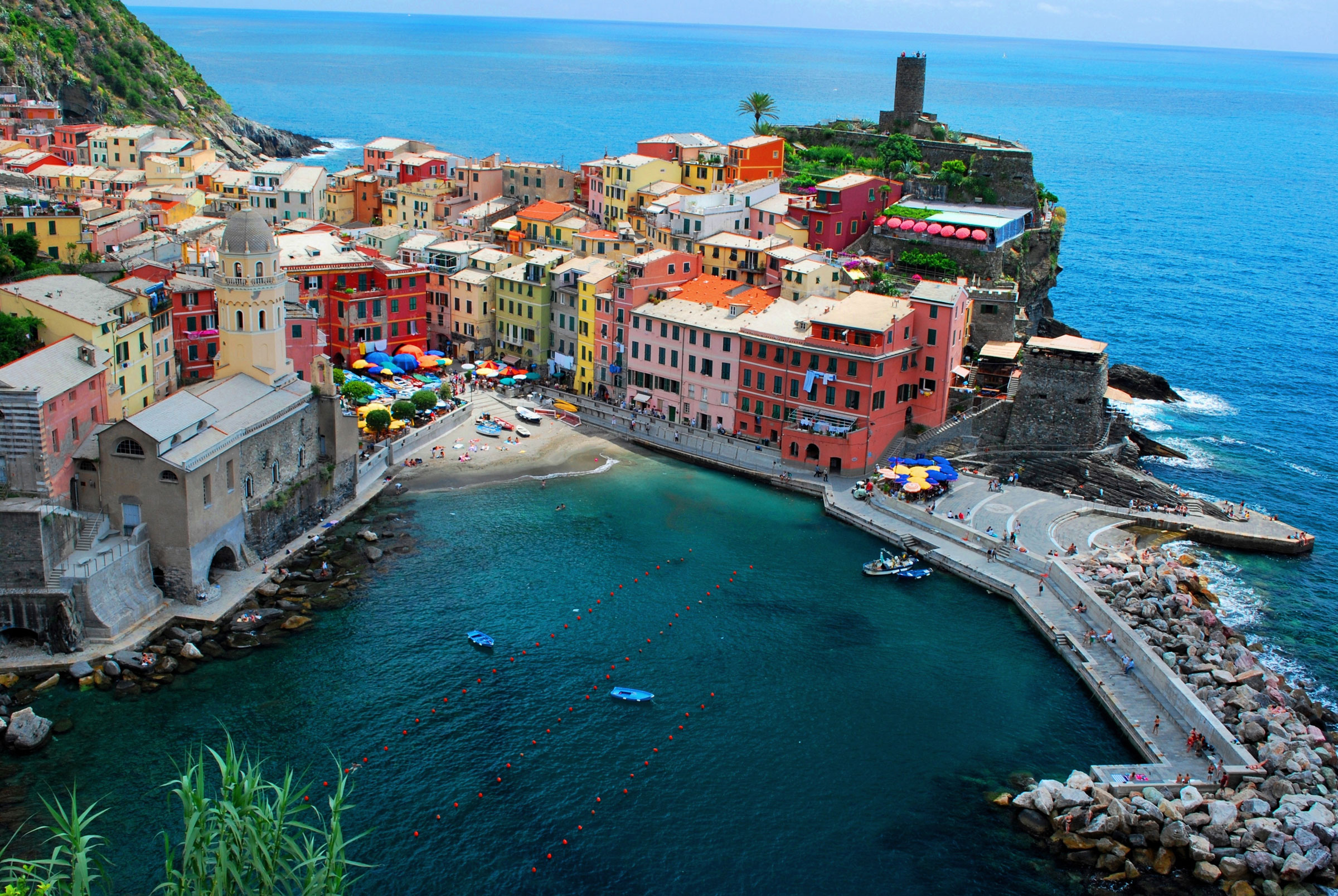 Vernazza Beach Cinque Terre Liguria