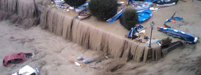 Flooding in the Cinque Terre, cover