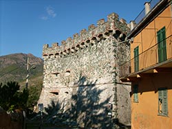 Castle, walls and the Clock Tower, Levanto, Cinque Terre