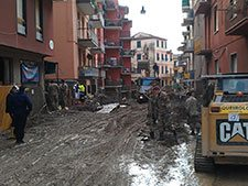 Cinque Terre in the first months after the floods, Italy