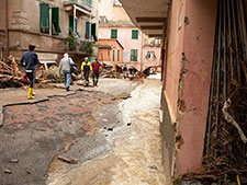 Cinque Terre in the first months after the floods
