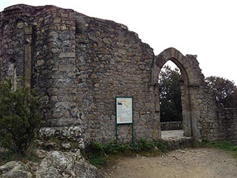 The Hermitage of St Anthony Abbot of Mesco, cape of Mesco, Levanto, Cinque Terre