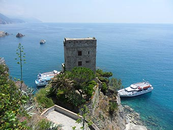 The Aurora Tower, Monterosso, Cinque Terre
