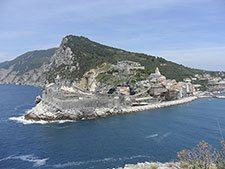 Portovenere - Panoramic view from the island of Palmaria