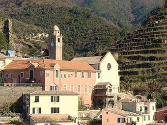 Church of San Francesco, Vernazza, Cinque Terre