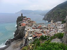 Vernazza - Panoramic view from the Blue Trail